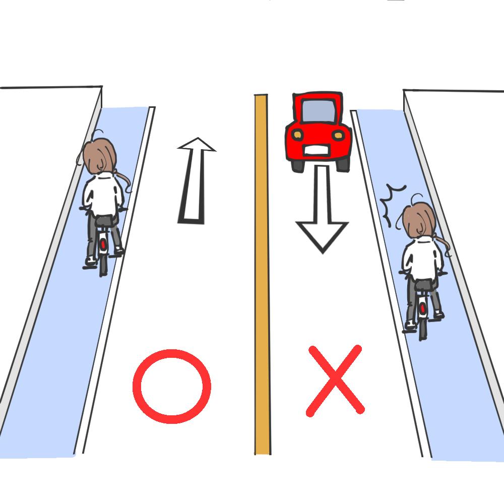 その2:左側通行が基本